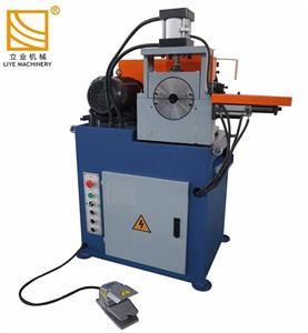 Единична глава кръгла тръба кръг прът тръба обрязване скосяване машина