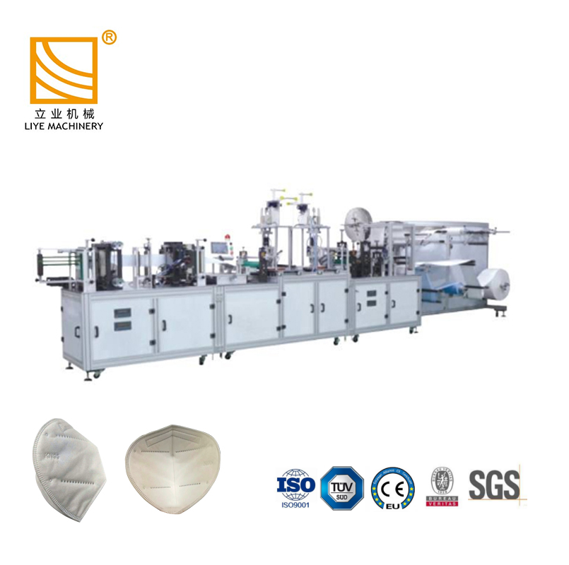 disposable surgical 5ply mask machine