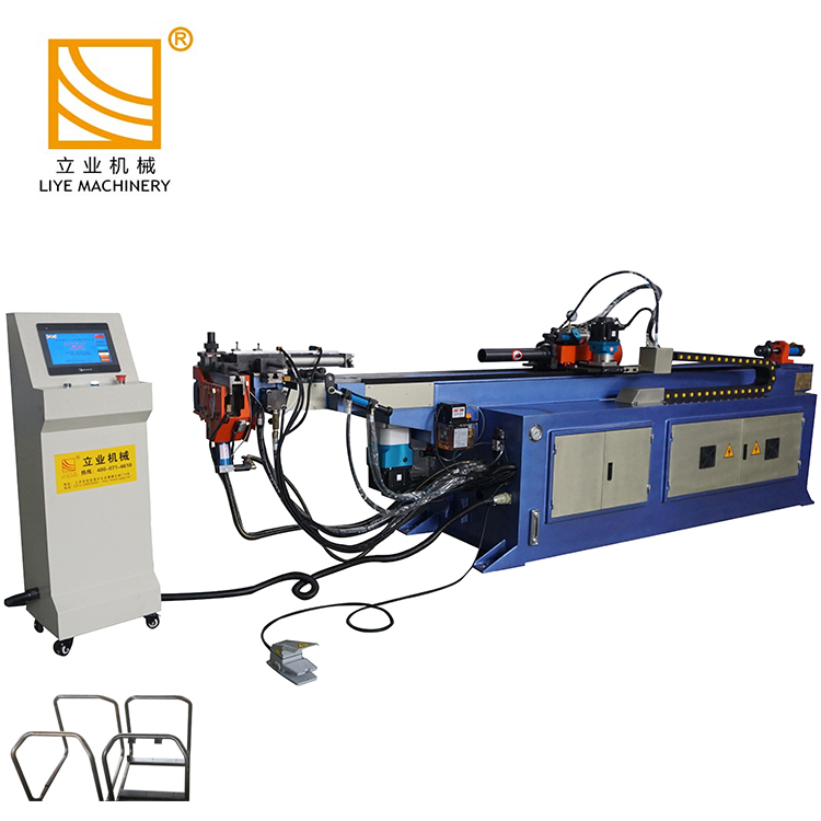 PLC контрол Electric 1.5 Inch дорник Бендер тръба CNC машини за огъване на тръби