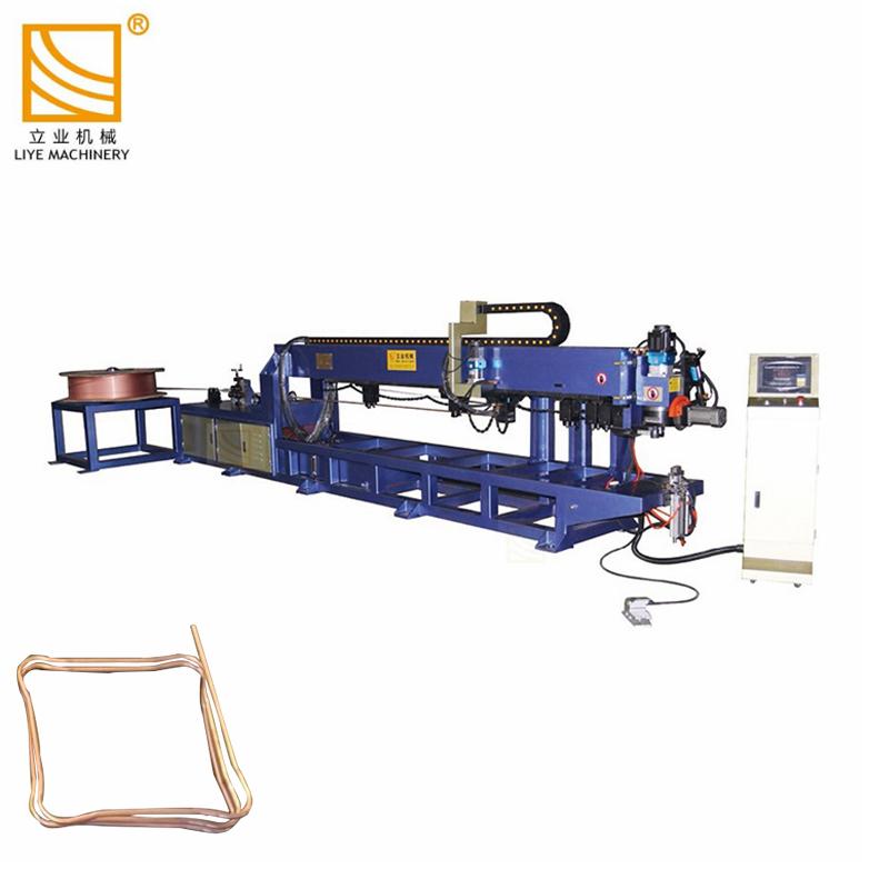 Автоматично хранене рязане изправяне тръба и тръба машини за огъване