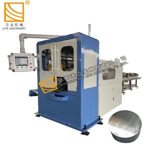 Machine de découpe de tuyaux CNC pour couper une barre solide de 120 mm