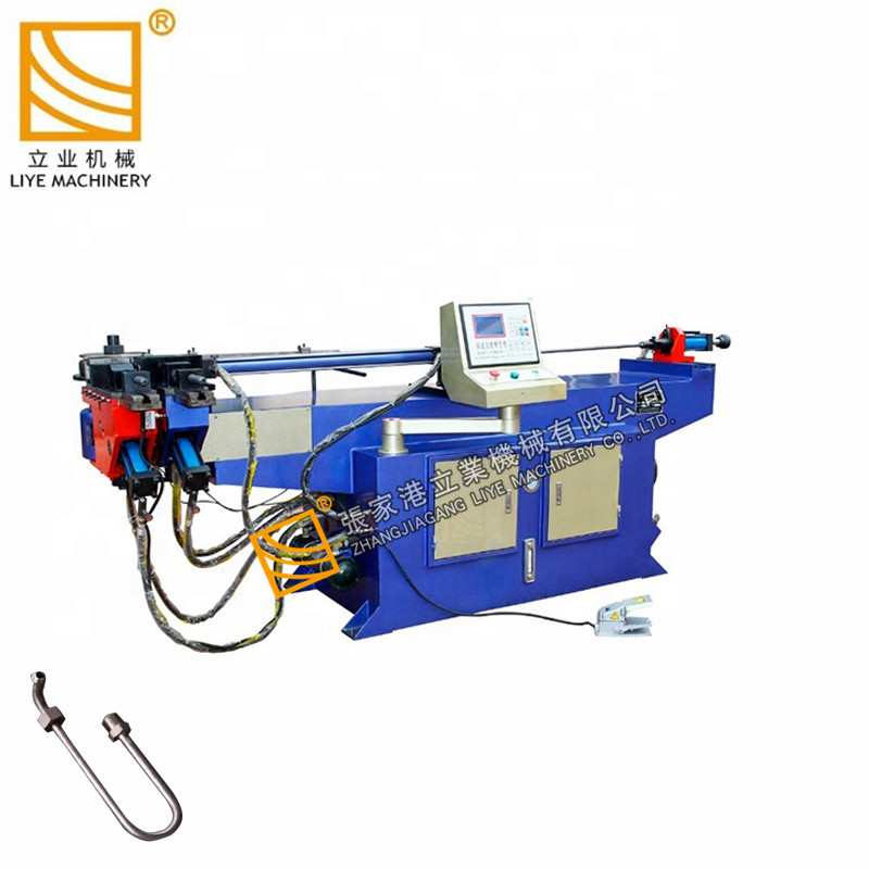 Ms thép nhẹ / máy uốn ống kim loại mạ kẽm / máy uốn ống