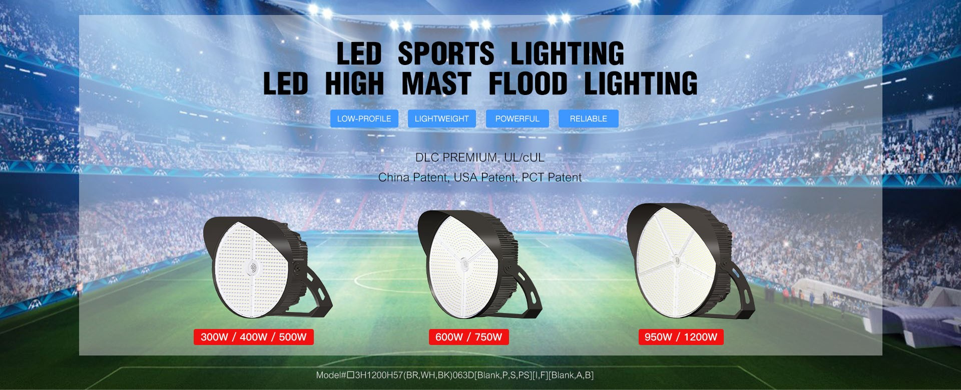 LED SPORTS LIGHT HIGH MAST FLOOD LIGHT