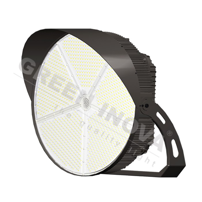 Sports hall led lighting 1200W tech lighting manufacturers for football fields