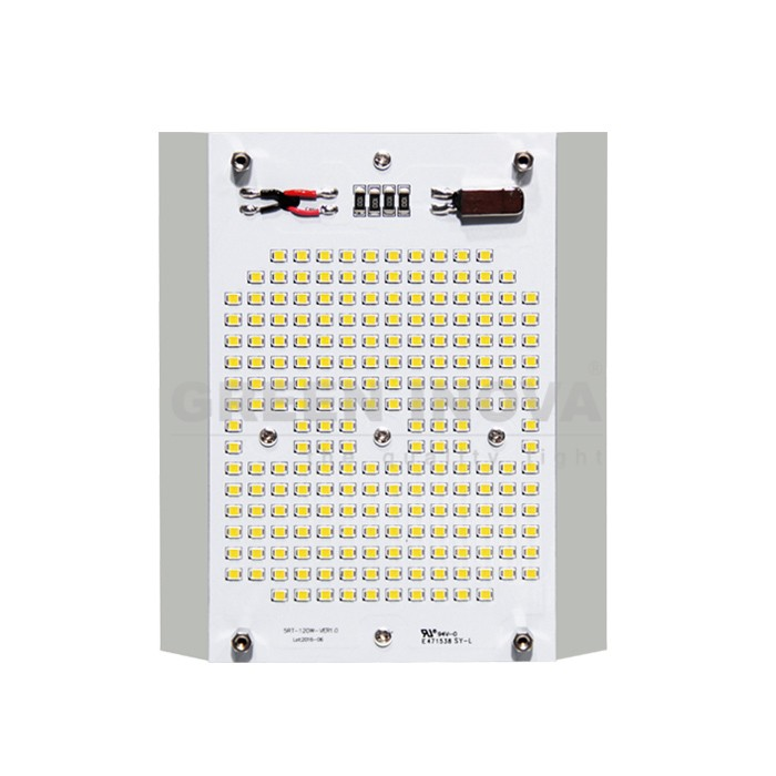 Square recessed led retrofit kit