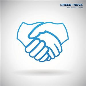 Green Inova lighting together with you