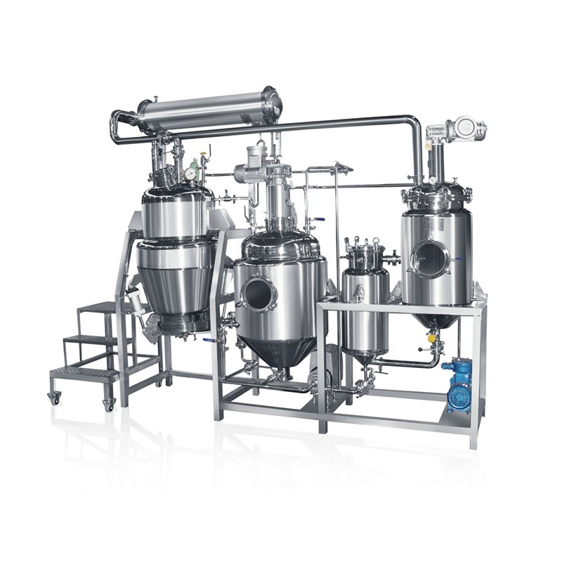 Pilot Extractor And Concentrator Plant