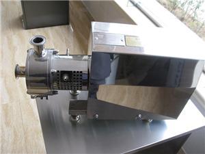 homogénéisateur pompe