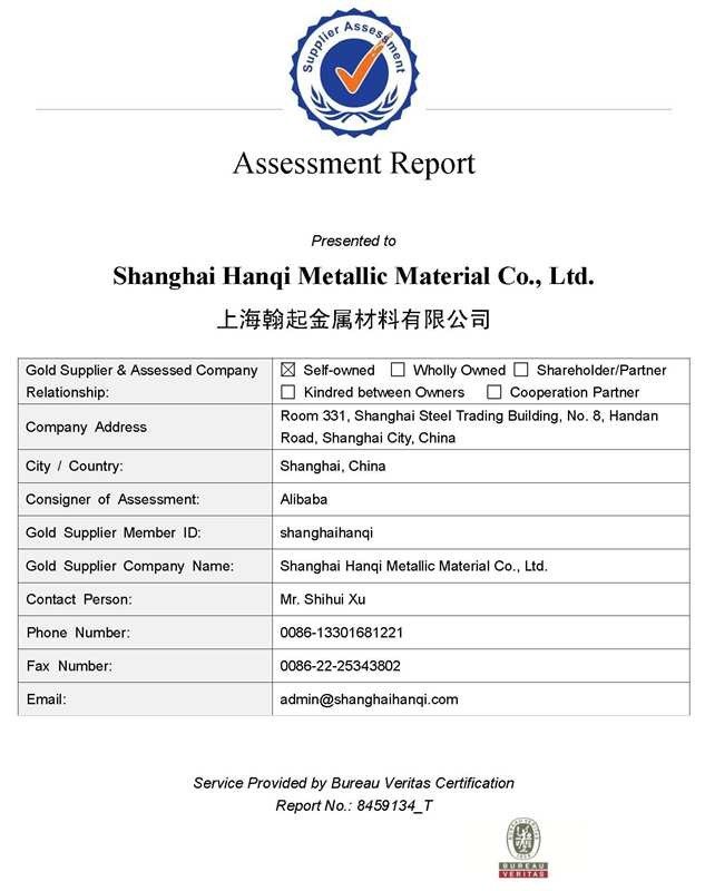 BV Zertifikat Unternehmen