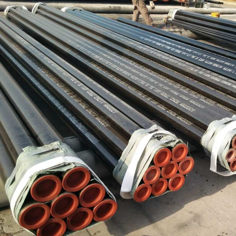 Packing for small diameter steel pipes