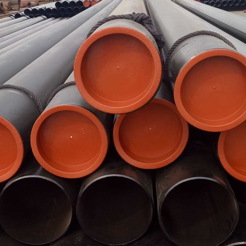 Packing for large diameter steel pipes