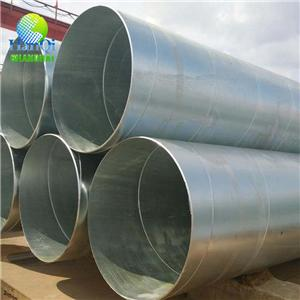 Galvanizing Spiral Welded Steel Pipe
