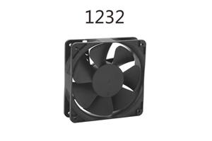 Drustproof DC Axial Fan With Large Air Flow