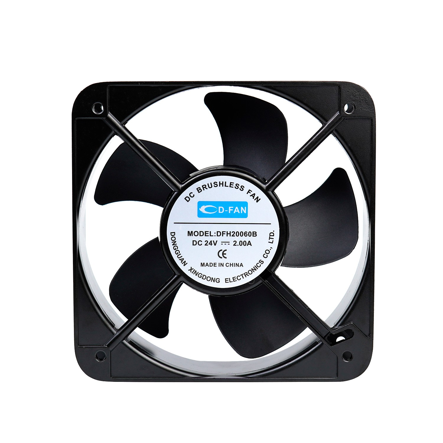 Computer Fan 200mm DC 12V 28db or less 40000 hours Cooling fan
