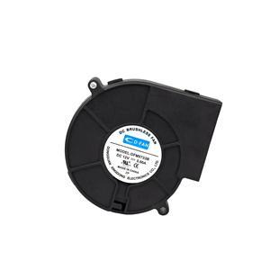 97mm 12v 24v pwm waterproof fan IP68 9733 DC cooling centrifugal fan 12v