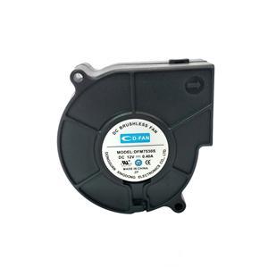 High quality 75X75X30mm DC cooling fan 12V 24V DC Blower Fan For Car