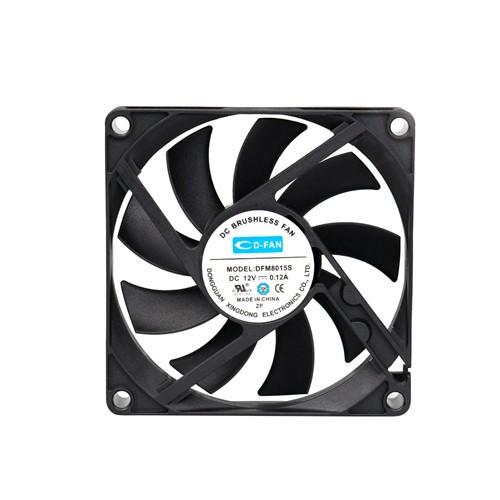 80mm Computer Fan 12v Cooling Fan Cheap Price dc fan Laptop fan Chinese Factory