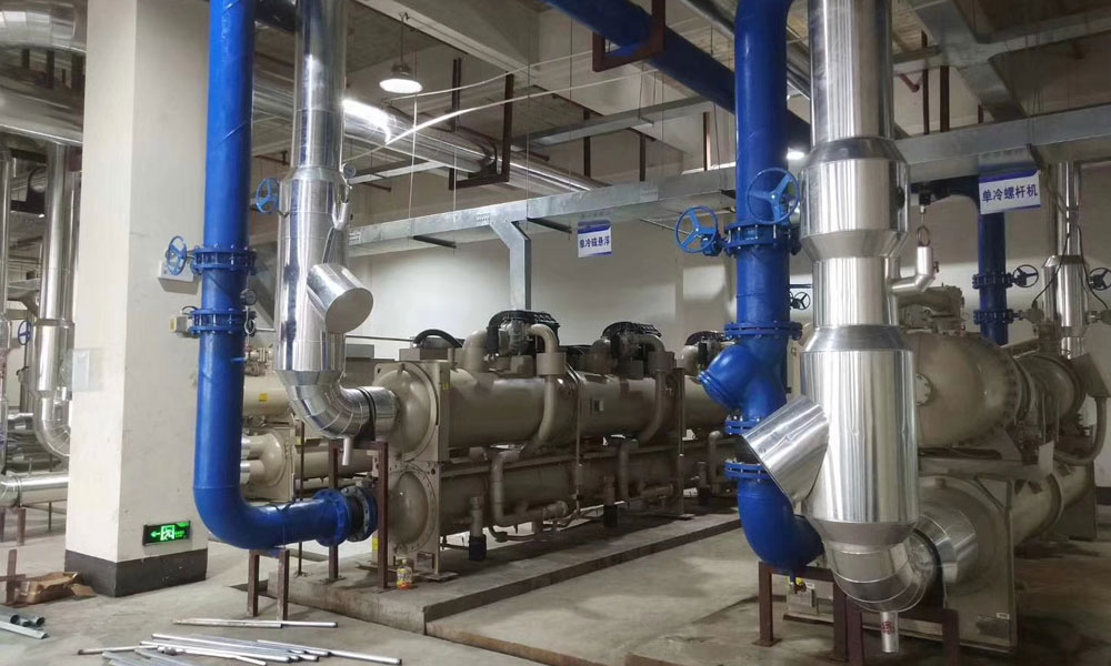 Air Conditioning Unit Plant Room