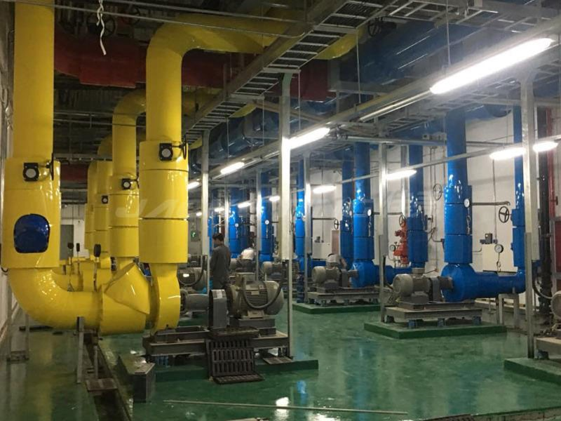 What are the electromechanical installations? Does it include hydropower installation of the building?