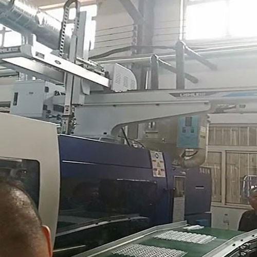 Robot taking fake nails