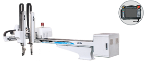 AC-Servomotor Roboterarm für Spritzgießmaschine 5-Achsen-Manipulator