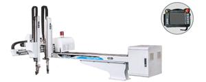 Pick and Place Industrieroboterarm für Spritzgießmaschine
