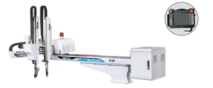 China Fabrik 5 Achsen automatische Pick-and-Place-Roboter Arm Einspritzroboter