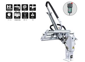 Pneumatischer teleskopischer mechanischer Xyz-Pick-and-Place-Roboterarm für Kunststoffspritzgussmaschine