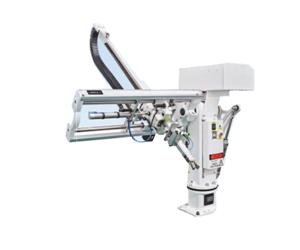 Einachs-Servo-Manipulator für Spritzgussmaschinen mit angetriebenem Strahl