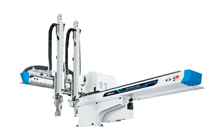 Medium-sized 3 axis precision robotic arm