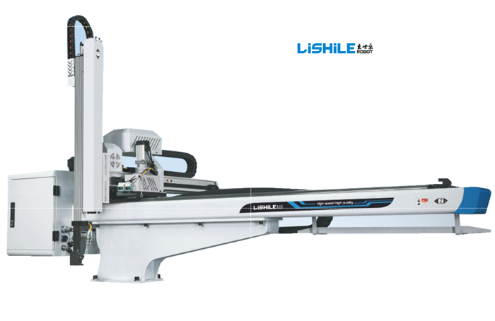 lengan robot kecil untuk mesin cetak suntikan