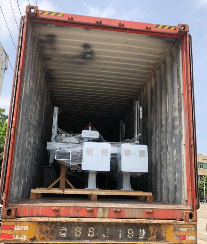 Схема транспортировочного ящика манипулятора для литья под давлением