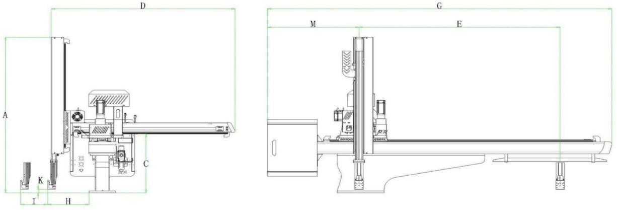 Minitype dreiachsiger AC-Servoroboter zur Einspritzung