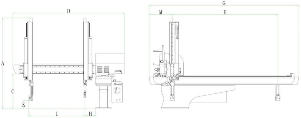 Spritzgießmaschine Roboterarm
