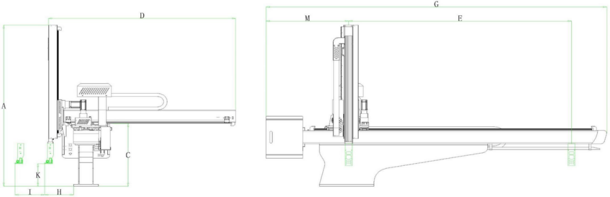 Fünf-Achsen-AC-Servo bester Roboterarm