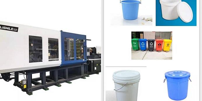 Hochwertige Computersteuerungs-Mülleimer-Spritzgießmaschine