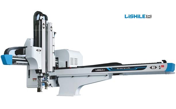 ذراع آلي أوتوماتيكي صناعي عالي السرعة لآلة التشكيل بالحقن الأفقية