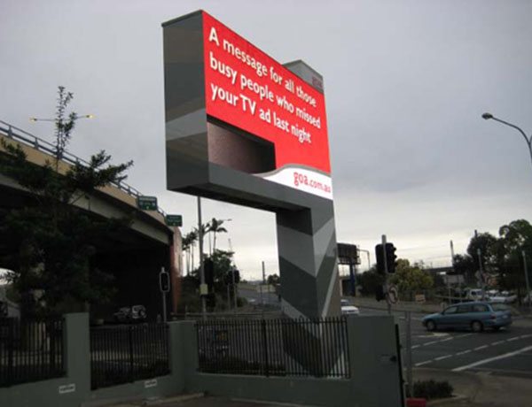 P16 Outdoor Billboard led display in Australia project