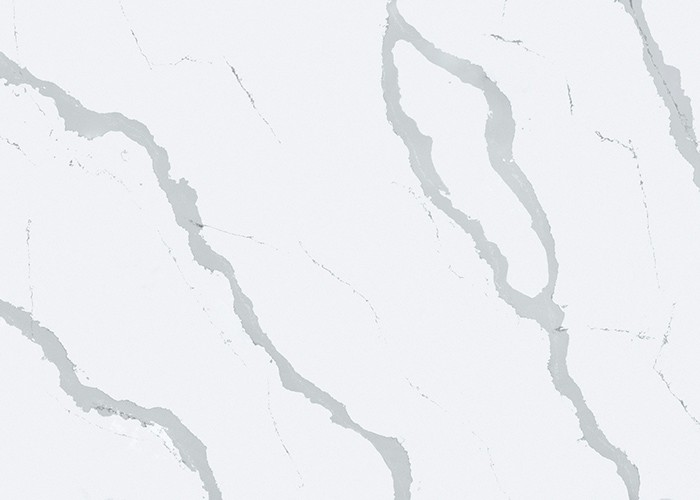 Bianco Calacatta Quartz Contemporary Kitchen Countertop Bathroom Top