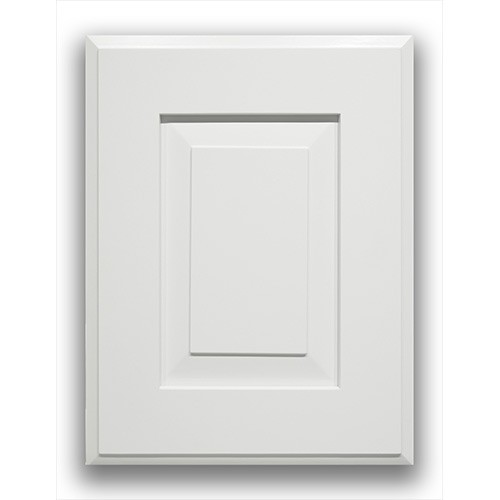 Hillcrest White Glazed Style All Wood Kitchen Cabinet
