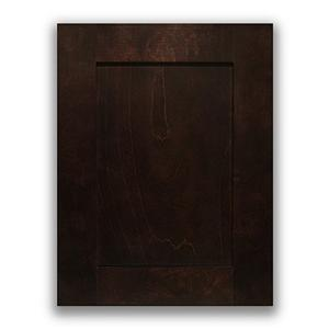 Espresso Maple Modular Wooden Kitchen Cabinet