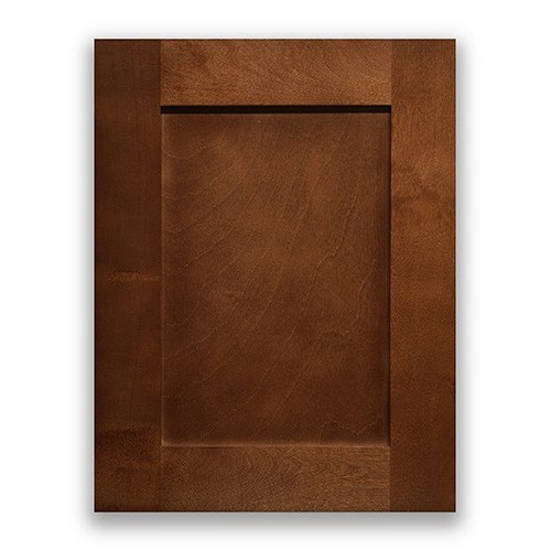 Mocha Maple Natural Wooden Kitchen Cabinet