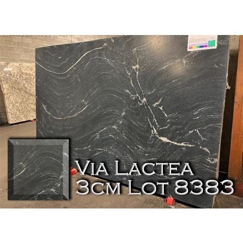 Via Lactea Granite Smooth Kitchen Countertop Custom Bathroom Top