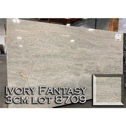 Ivory Fantasy Granite Creamy Kitchen Top Solid Bathroom Countertop