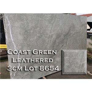Coast Green Leathered Granite Unique Kitchen Countertop Vanity Top
