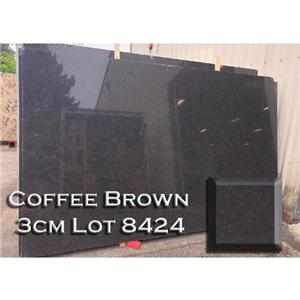 Coffee Brown Granite Modest Kitchen Countertop Solid Bathroom Top
