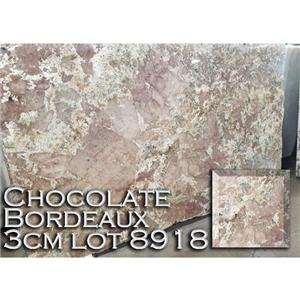 Chocolate Bordeaux Granite Multicolor Kitchen Countertop Vanity Top