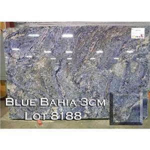 Blue Bahia Granite Unique Kitchen Countertop Bathroom Vanity Top