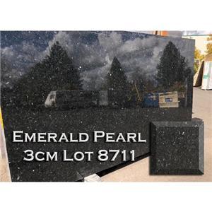 Emerald Pearl Granite Modern Kitchen Countertop Solid Bathroom Top