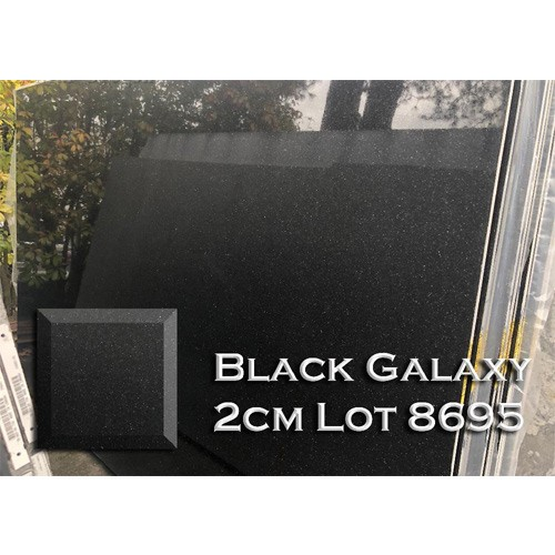 Black Galaxy Granite Stylish Kitchen Countertop Bathroom Vanity Top